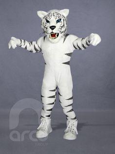Botargas de Animales Salvajes. Tigre Blanco  ¡Conoce más botargas de animales salvajes aquí! http://www.grupoarco.com.mx/venta-de-botargas/botargas-de-animales-en-mexico/
