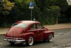 We had this exact car - absolutely loved driving it on the freeway! Volvo PV544 1959.