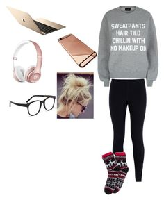 """""""Untitled #564"""" by chloe2234 ❤ liked on Polyvore featuring косметика, Private Party, NIKE и Larke"""