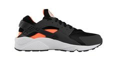 Nike Air Huarache LE 'Black/Total Orange-Anthracite'