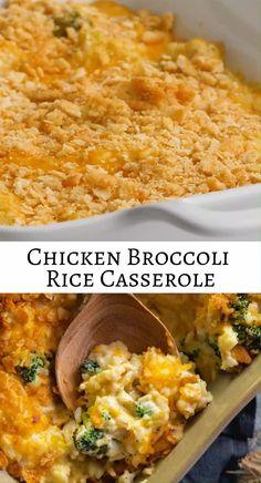 Cheesy Recipes, Easy Casserole Recipes, Easy Healthy Recipes, Easy Dinner Recipes, Mexican Food Recipes, Easy Chicken And Rice, Chicken Cheese And Rice Mexican Recipe, Cheesy Chicken, Quick Meals