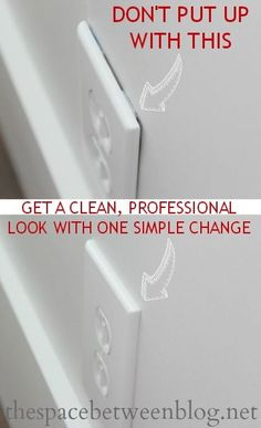 One simple change and your outlets will all have a professional look