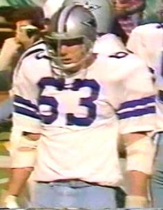 Defensive end LARRY COLE (63)--October 28, 1979 Cowboys 4, Dallas Cowboys, Sports Games, Larry, Captain America, October, Texas, Beautiful Women, Iron