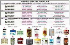 Cronograma Capilar ;)