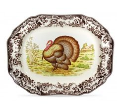 Enter to win a Spode Woodland Turkey Platter from Portmeirion Group. #Sweepstakes Ends 11/16/15.