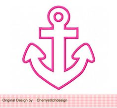 Anchor Appliqque 4x4 5x7 6x10Machine por CherryStitchDesign no Etsy