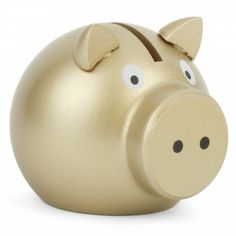 Vilac Golden piggy bank