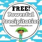 Have fun making cloud mobiles to help your students remember the 4 types of precipitation: rain, snow, sleet, and hail. This packet also includes 1...
