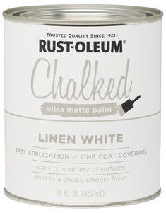 Best Chalk Paint, Chalky Paint, White Chalk Paint, Chalk Painting, Rustoleum Chalk Paint Colors, Painting Metal, Painting Tricks, Matte Painting, Grey Paint