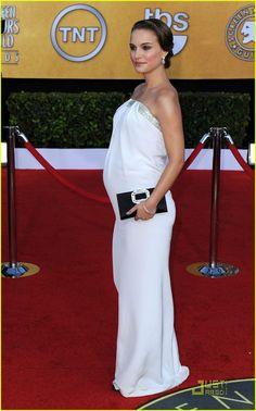 Natalie Portman in Azzaro, so delicately beautiful