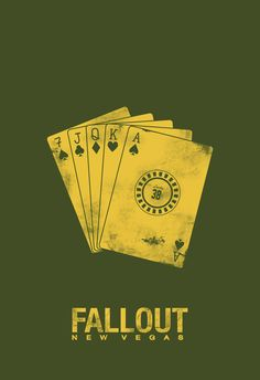 Fallout: New Vegas Minimal Poster by Blind-Pixel777