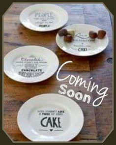 Riviera maison Fall / Autumn / Winter 2017 Kitchenware, Tableware, Piece Of Cakes, Cake Plates, Pie Dish, Decorative Plates, Villa, Winter 2017, Autumn