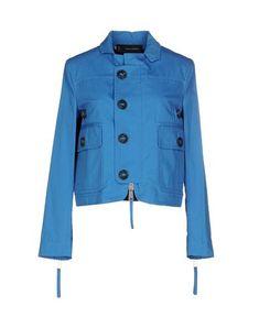 Prezzi e Sconti: #Dsquared2 giubbotto donna Azzurro  ad Euro 194.00 in #Dsquared2 #Donna capispalla giubbotti