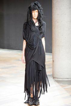 I'm into fringe right now. Junya Watanabe | Spring 2014 Ready-to-Wear Collection | Style.com
