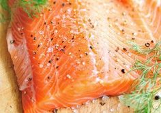 25 Ridiculously Healthy Foods - Salmon is a rich source of vit D & omega-3s. These essential fatty acids prevent <3 disease, smooth skin, aiding weight loss, boost mood & minimizing the effects of arthritis. Omega-3s also slow the rate of digestion, which makes you feel fuller longer, so you eat fewer cal throughout the day.