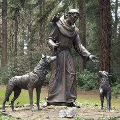 Saint Francis of Assisi, the saint after whom the Pope took his name, is the patron saint of animals. Photo: Shutterstock
