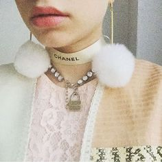 @tavitulle is giving us life right now! #TooCuteToCare #pixiemarket #chanel // accessories