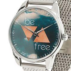 New Art Fashion Women Girl Metal Strap High Quality Casual Wrist Watches Be Free #ZIZ #Fashion