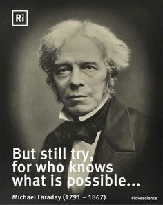 """Michael Faraday """"We're not comfortable until you are!"""" www.hwy32hvac.com"""