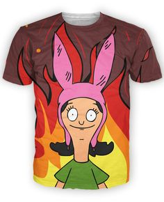 Louise Belcher T-Shirt - Rage On! - The World's Largest All-Over Print Online Retailer