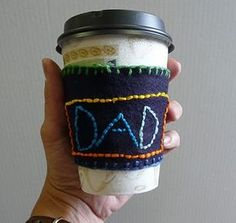 Coffee Cozy for Father's Day and Mother's Day