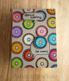 Donut worry be happy   by just kate2013