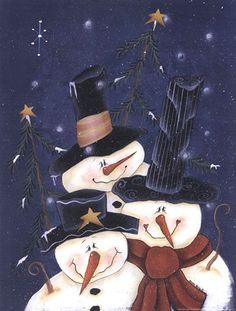 Snow Happy by Bonnee Berry art print