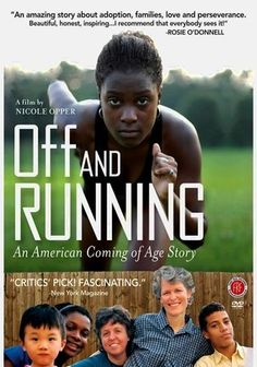 Off and Running (2009) African American teen Avery Klein-Cloud has white Jewish lesbian parents, an older Puerto Rican brother and a younger Korean brother. As she tries to contact her biological mother, Avery risks alienating the adoptive family she's always loved. Examining the complexities of race, identity and family, filmmaker Nicole Opper's compelling documentary follows Avery as she wrestles with the consequences of researching her roots.