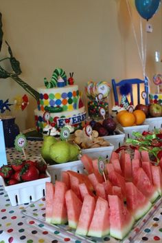 The Very Hungry Caterpillar, by Eric Carle Birthday Party Ideas | Photo 1 of 27 | Catch My Party