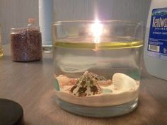 Oil and Water DIY Candles