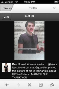 What an awful picture to choose... Well, that sums dan up pretty much.
