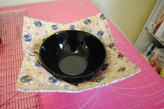 Been a very Busy Crafting Bee: Microwave Bowl Cozy Tutorial
