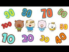 Count 10-100 | Count by 10 Song | The Singing Walrus - YouTube