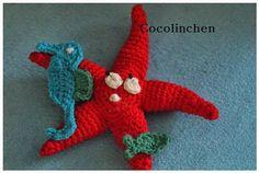 Cocolinchen : #Seestern Lukas und seine Anhängsel #Häkeln