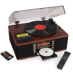 Celebrate the 30th birthday of the CD by using them to store all those old records and cassette tapes in the attic!