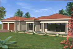 House Plans South Africa, House Layouts, Modern House Design, Kitchen Designs, Farmhouse, Curtains, Outdoor Decor, Home Decor, Blinds