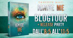 Romance and Fantasy for Cosmopolitan Girls: Release Party: Ignite Me di Tahereh Mafi