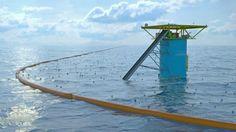 Het project van Boyan Slat moet het plastic uit de oceaan vissen GEWELDIG