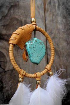 TURQUOISE Boho Necklace, Chakra Balancing, HeaIing Stone, Bohemian,Tribal, Spiritual, Nature Inspired on Etsy, $55.00