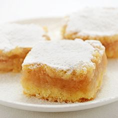 Apple Pie Bars (Croatian Pita) - crumbly butter dough with cinnamon apple filling