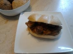 facon, vegan sausage and the vegg omelet sandwich