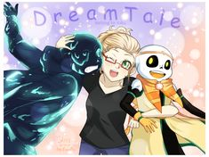Happy Birthday Dream and Nightmare!Congratulations to all of you, Joku, Dream and Nightmare! Anime Undertale, Undertale Memes, Undertale Drawings, Undertale Ships, Undertale Cute, Frisk, Chucky Horror Movie, Horror Movies, Dream Sans