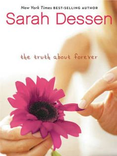 """""""There is never a time or place for true love. It happens accidentally, in a heartbeat, in a single flashing, throbbing moment.""""   —Sarah Dessen, """"The Truth About Forever"""""""