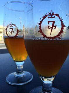7venth Sun Brewery in Dunedin Florida.   www.aladycrafter.com
