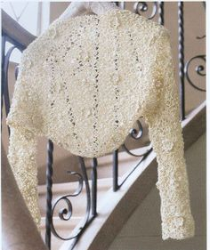 Crochet patterns: Free Crochet Chart for Cold Weather Bolero