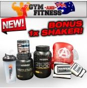 Gym & Fitness Fight Stack  FREE FREIGHT AUSTRALIA WIDE or PICK UP AVAILABLE IN ADELAIDE ONLY PLEASE CALL 1800 614 491 TO ORDER NOW!  This stack includes the following items:  - 1x Nutrabolics Hemorush 2.2lbs pre-workout (call for flavours) - 1x Nutrabolics Fighters Food protein (call for flavours) - 1x APS CreaMorph creatine 50 serves (call for flavours)   For more info visit: http://www.gymandfitness.com.au/gym-fitness-fight-stack.html