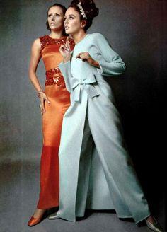 L'Officiel magazine 1967. Christian Dior & Nina Ricci