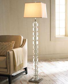 Royal Velvet® Crystal Block Table Lamp   JCPenney $160 | Lighting |  Pinterest | Block Table, Apartments And Lights
