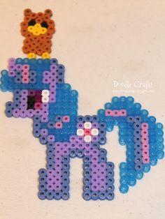 Twilight Sparkle and Owloysius perler beads by Doodle Craft
