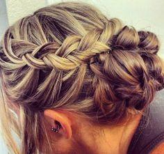 long hair styles for women updo